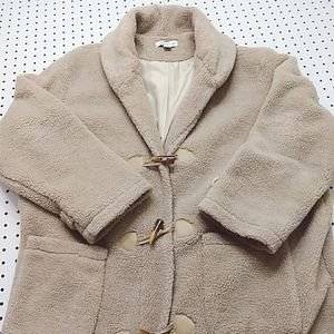 Coldwater Creek Teddy Trench Coat, Size XL